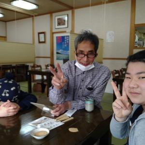 荘川そば&食事会