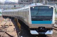 【JR東】E233系1000番台サイ120編成 TK出場
