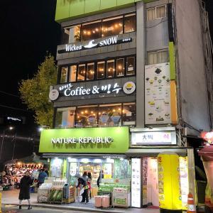 Wicked SNOW(東大門)★3-かき氷・ハニートースト・カフェ