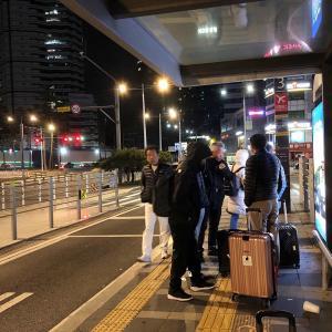 ソウル駅の深夜バス乗り場で気になること。