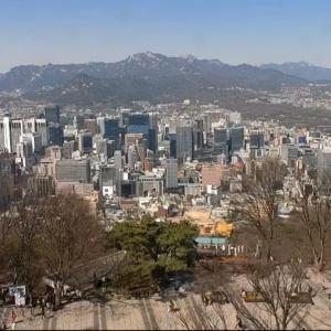 外出自粛要請中の韓国と日本をライブカメラで調査。