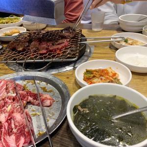 韓国の焼肉羨ましい!早く食べたい!