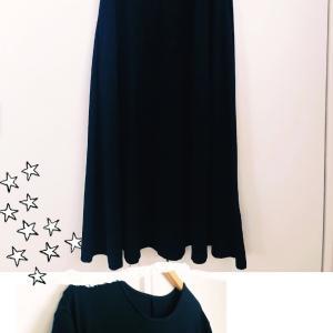 使い勝手の良かった黒い服2着。。。