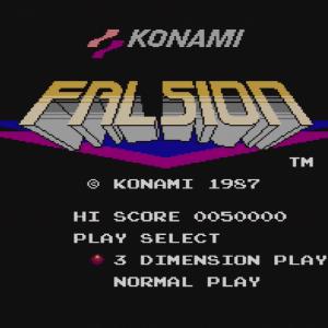 FALSION (FDS) / 初回プレイ