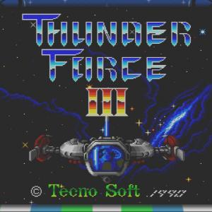 Thunder Force III (MDM) / 初回プレイ