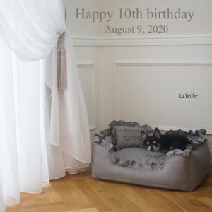 10歳のお誕生日。