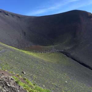 避暑地ハイキング 富士宝永山
