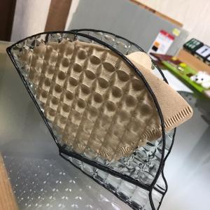 ステンドグラスのコーヒーフィルターケース 生徒さん作品紹介