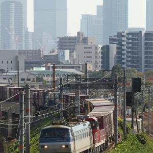 EF66+HD300 2077列車