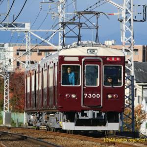 阪急7300F 本線試運転