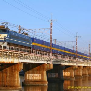 EF66 27牽引 専用貨物列車