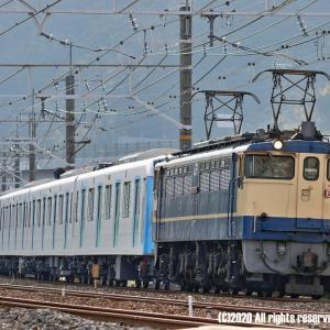 EF65国鉄色+西武40000系