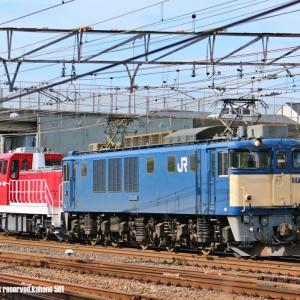 EF64+DD200 青赤重単