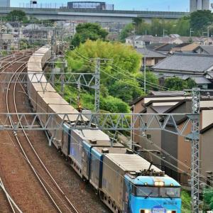 特貨電 と 貨物列車