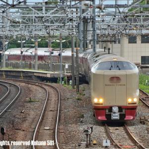 285系サンライズ 回送列車
