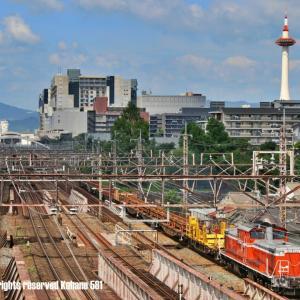 DD51ロンチキ 京都タワーバック