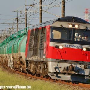 DF200+タキ 関西線で夕練
