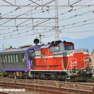 DD51亀山配給 山崎にて
