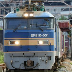 EF510青ゴトーの捕獲