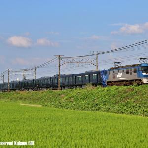 EF210+相鉄21000系 安土にて