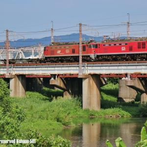 赤510重連 配給列車