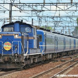 DD51夜行列車を4連発