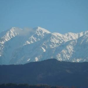 雪山と夕焼け♪