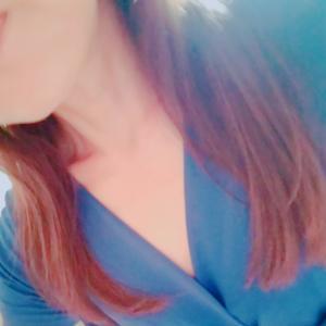 ◆ブルーのワンピースで「こんにちは~」