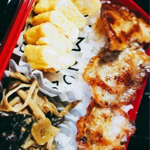 """◆ただ卵焼きが変わっただけ?お弁当箱と配置""""◆どうでもいいけど-月曜日のお弁当"""""""