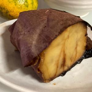 ◆生かされて旬を感じる焼き芋の美味しい季節だね