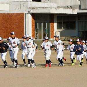 練習試合(VS海北、高川原・神山連合)