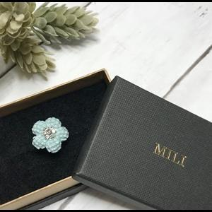 Mini MILI Flower リングとクリスマス福袋販売のお知らせ