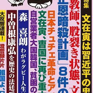 月刊Hanada 2月号