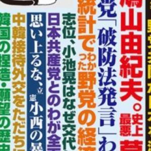 月刊Hanada 5月号