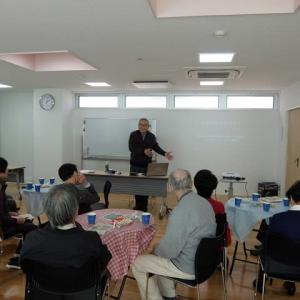 HUG高輪で本木光史さんの「自然学校で学ぶこと」という講演会が開催されました