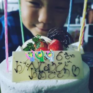 子供達の誕生日