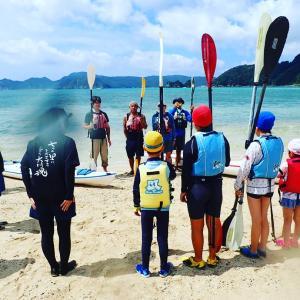 海の日★遠征大会とシーカヤック講習★