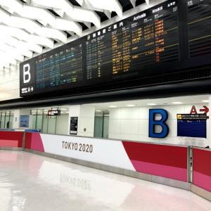 今日の成田空港と関西空港。