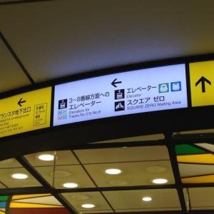 東京駅グランスタ完成現況見学