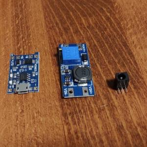 電熱グローブ用 予備バッテリー作成