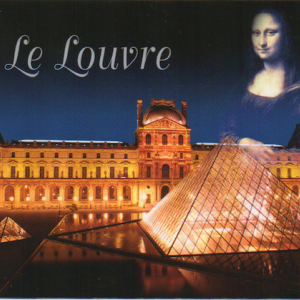 フランスなどから届いたポストカード。