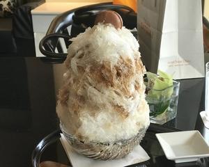 ホテルニューオータニが提供する天然氷のこだわり究極のかき氷