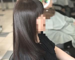 ファッションカラーだけで白髪染めを使わない低アルカリ濁らない白髪染め〜磐田市〜