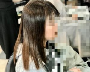 ファッションカラーだけで低アルカリ濁らない明るい白髪染め〜磐田市〜