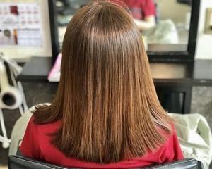 白髪染めを使わないファッションカラーだけで白髪染めで1番明るい染まり上がり〜磐田市〜