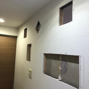 セルフリノベーション 第3弾 廊下のニッチ窓&珪藻土編 手話美容室