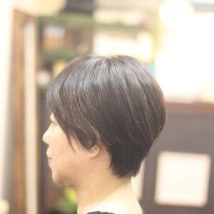 ショートヘア YUKIさん編 長堀橋美容室 心斎橋美容室 手話美容室 ウナカシータ