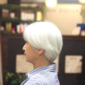 女性の2ブロックスタイル T様編 長堀橋美容室 手話美容室 ウナカシータ