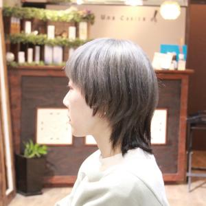 ダブルカラー KUMIKOさん編 長堀橋美容室 手話美容室