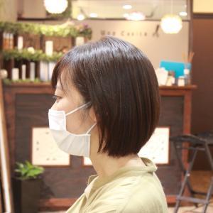 割とバッサリカットしますよ イケちゃん編 長堀橋美容室 手話美容室